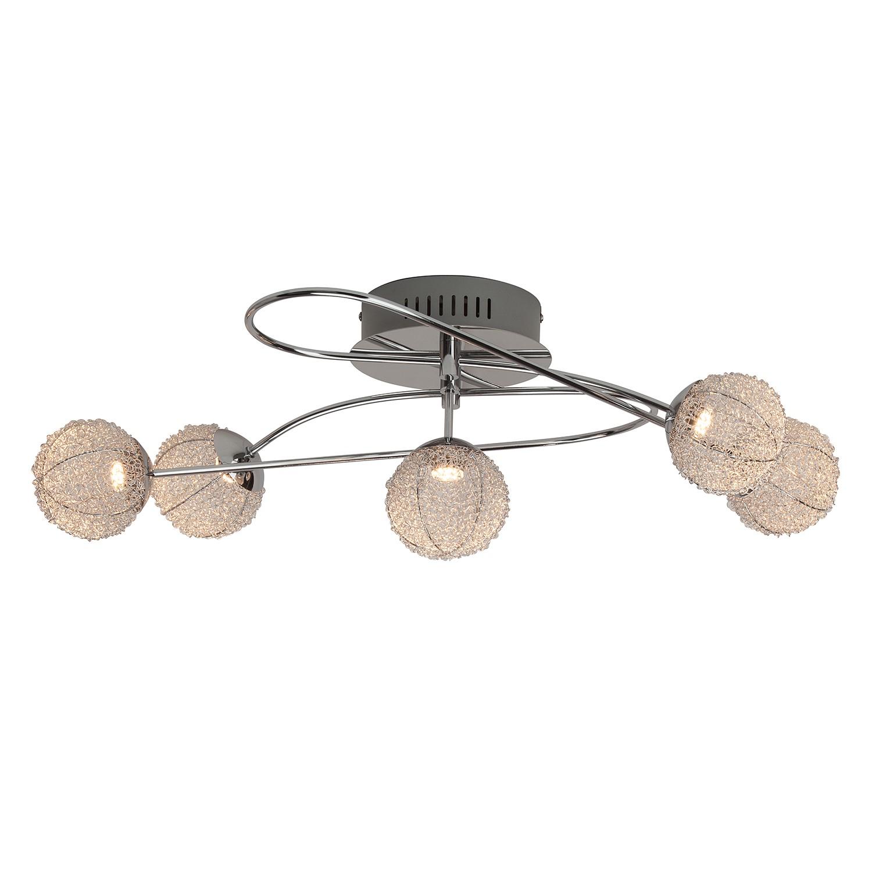 home24 LED-Deckenleuchte Dajana 5-flammig
