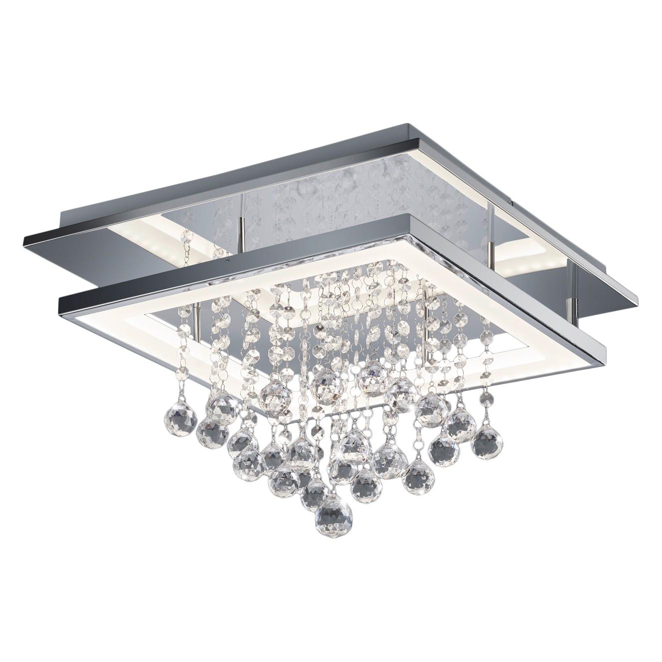home24 LED-Deckenleuchte Dorian II