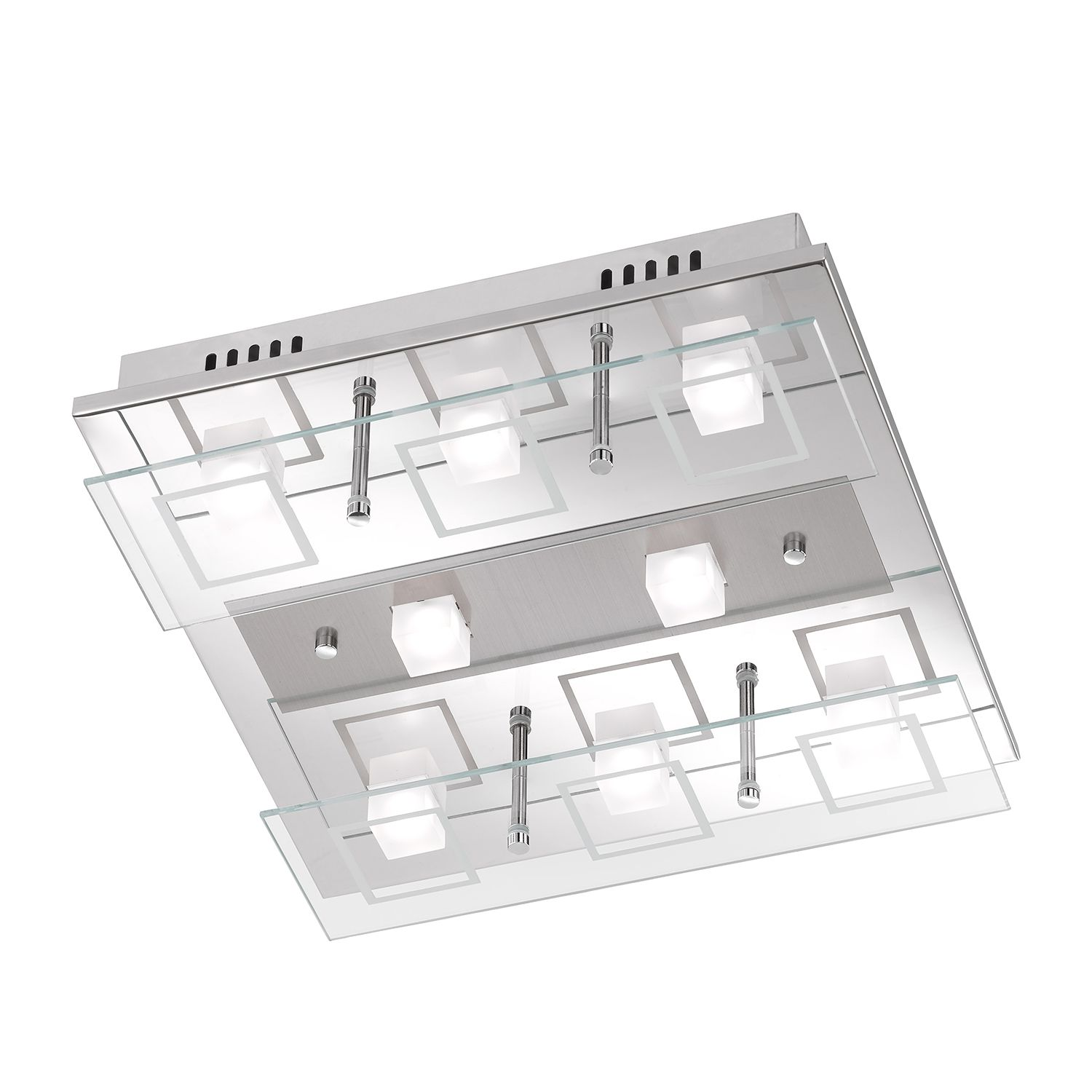 home24 LED-Deckenleuchte Fitch