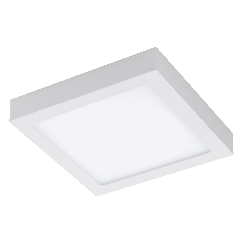 EEK A+, LED-Deckenleuchte Fueva II - Kunststoff / Aluminium - 1-flammig - 22.5, Eglo