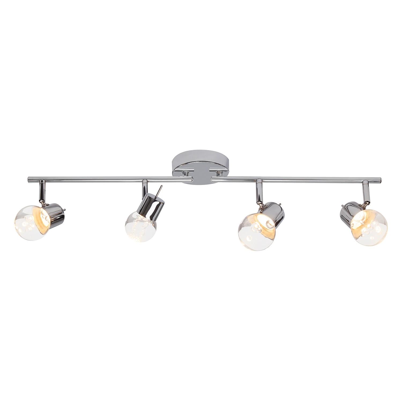 home24 LED-Deckenleuchte Lastra 4-flammig