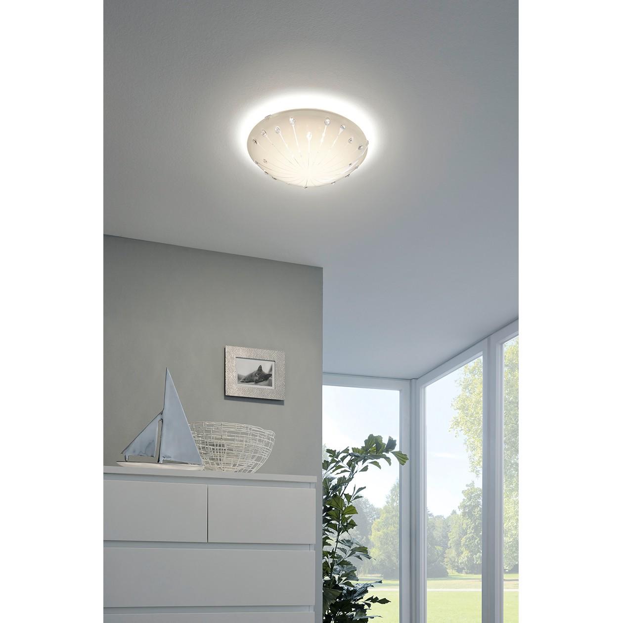 home24 LED-Deckenleuchte Margitta