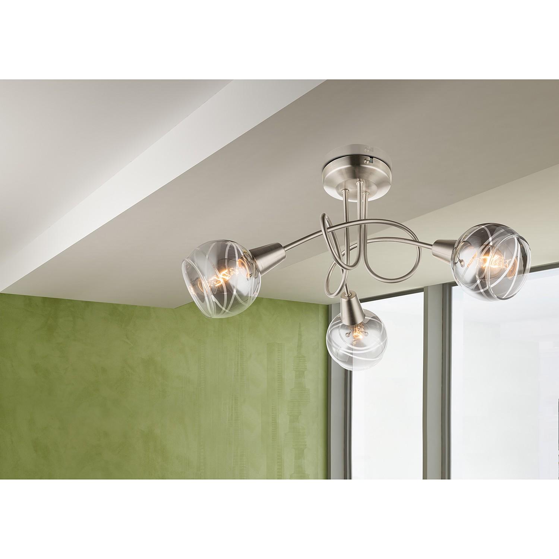 home24 LED-Deckenleuchte Roman Lines I