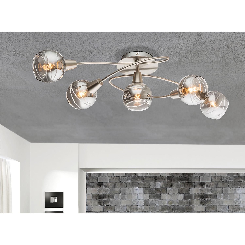 home24 LED-Deckenleuchte Roman Lines II