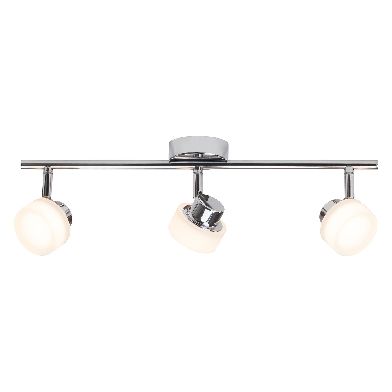 home24 LED-Deckenleuchte Rory 3-flammig
