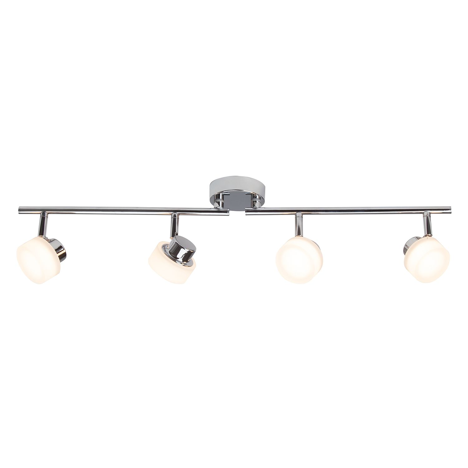 home24 LED-Deckenleuchte Rory 4-flammig