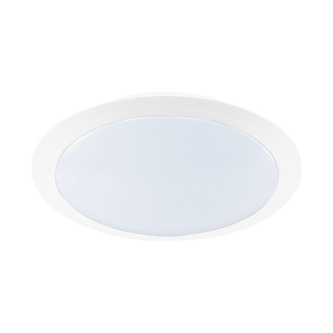 EEK A+, LED-Deckenleuchte - Weiß - 1-flammig, Trio
