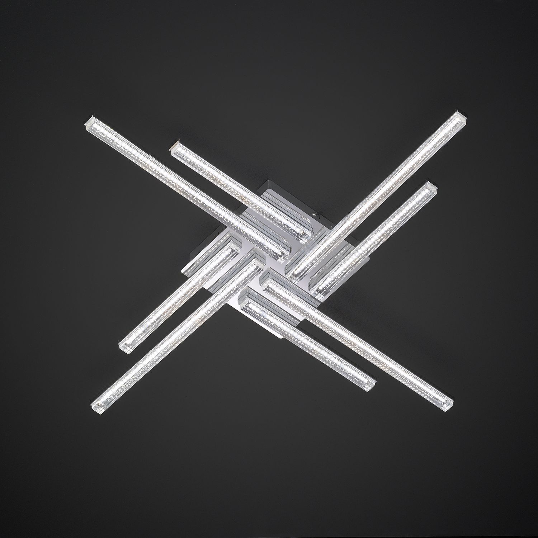 home24 LED-Deckenleuchte Sorel