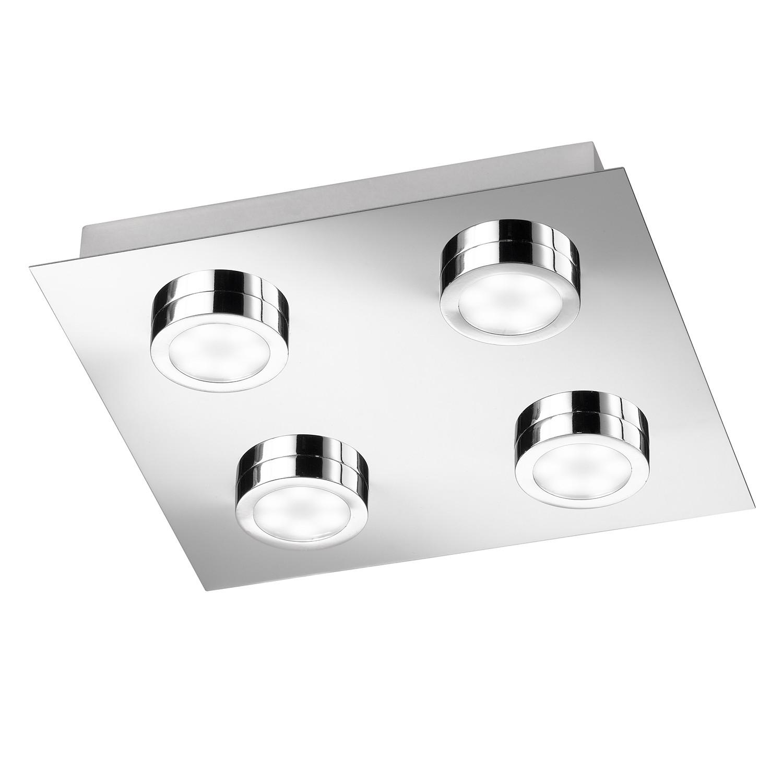 EEK A+, LED-Deckenleuchte Veneta - Metall - 4-flammig, SPA line