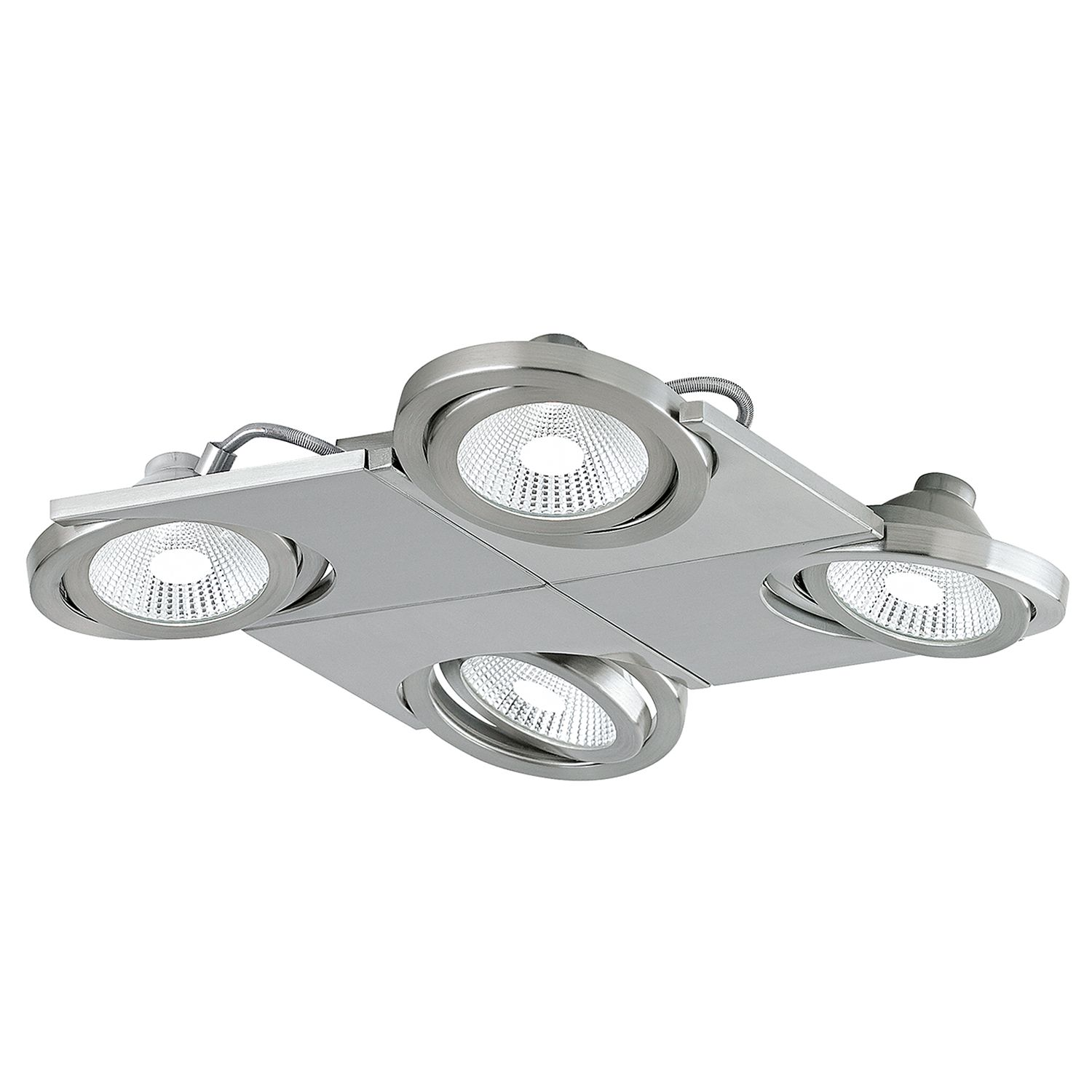 home24 LED-Deckenstrahler Brea