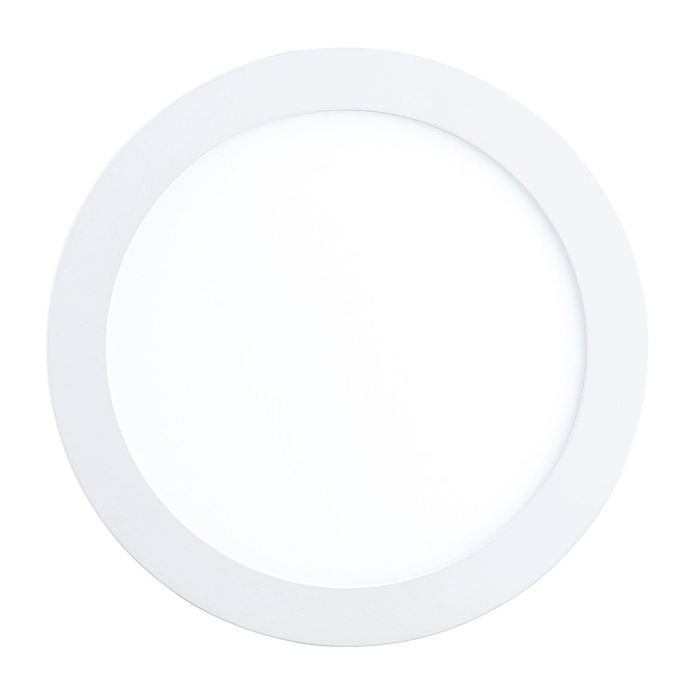 home24 LED-Einbauleuchte Fueva I   Lampen > Strahler und Systeme > Möbelaufbaustrahler   Weiss   Eglo