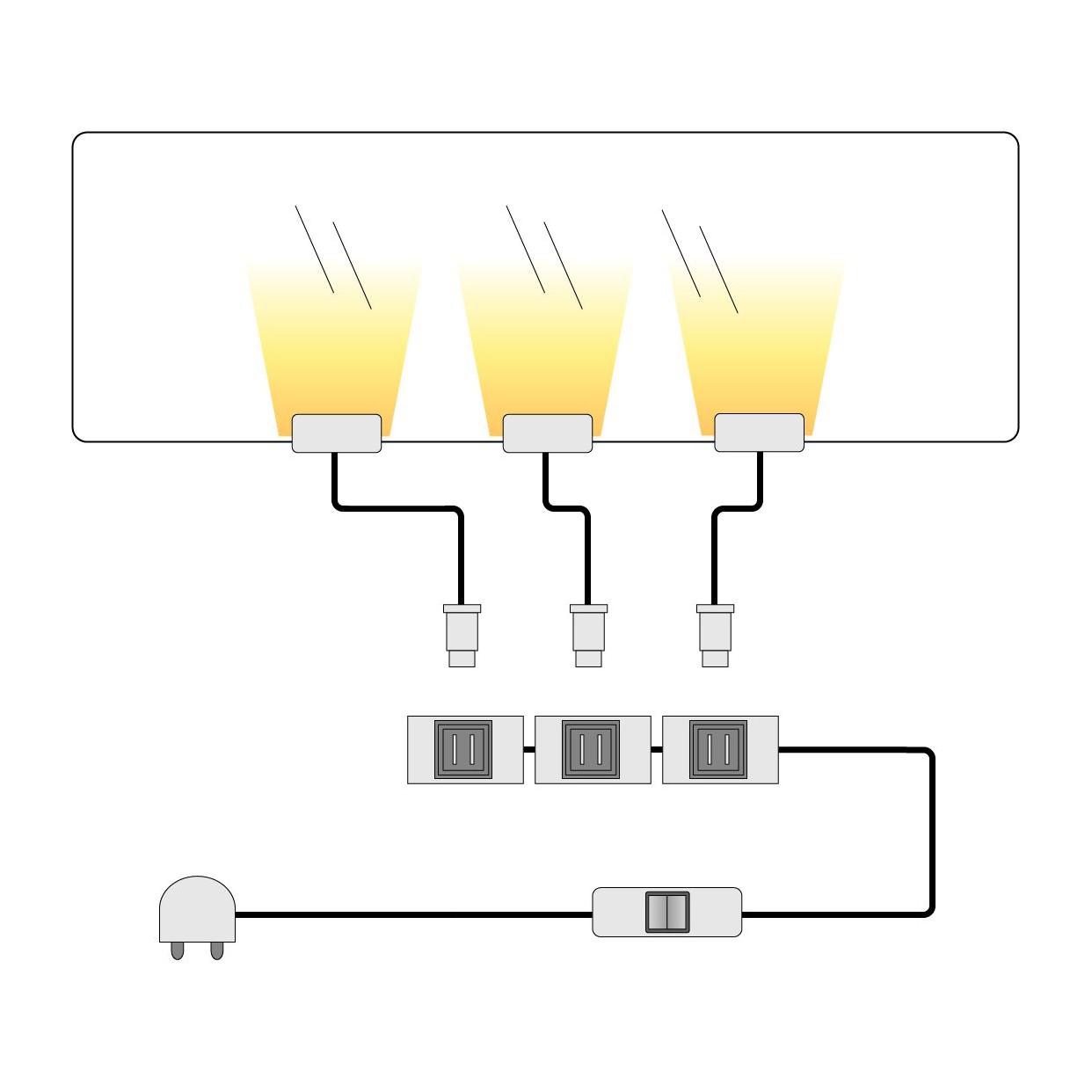 home24 LED-Glaskantenbeleuchtung Piorini | Lampen > Leuchtmittel > Led | mooved
