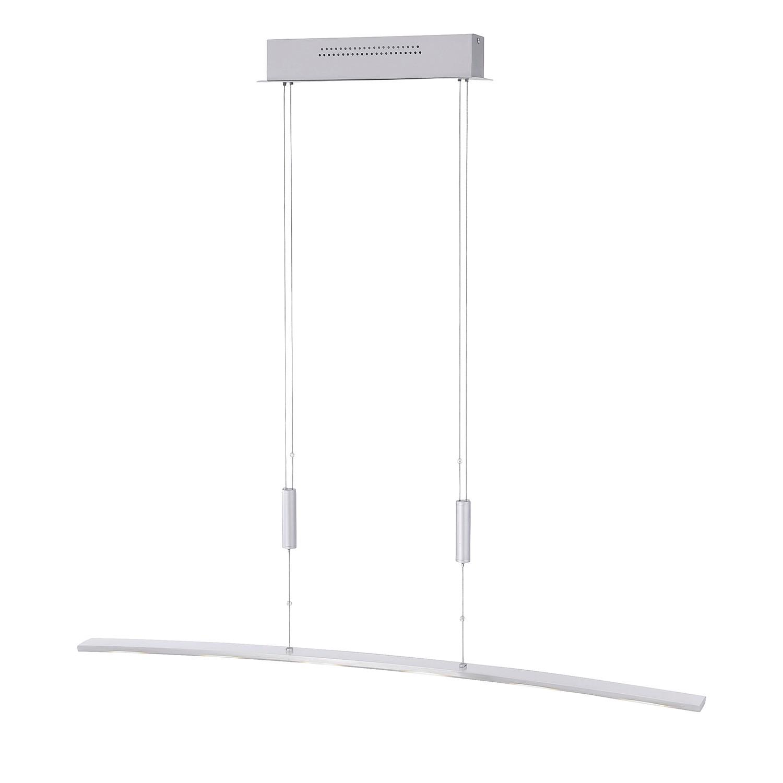 EEK A+, LED-Pendelleuchte - Aluminium, Fischer ...