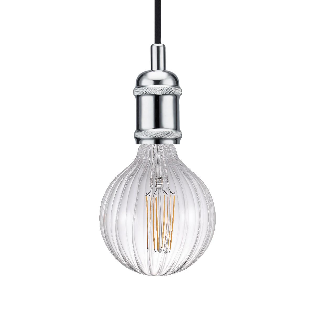 home24 LED-Pendelleuchte Avra I
