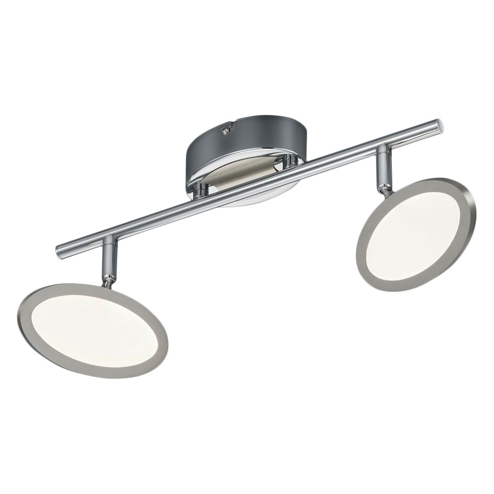 home24 LED-Deckenleuchte Duellant