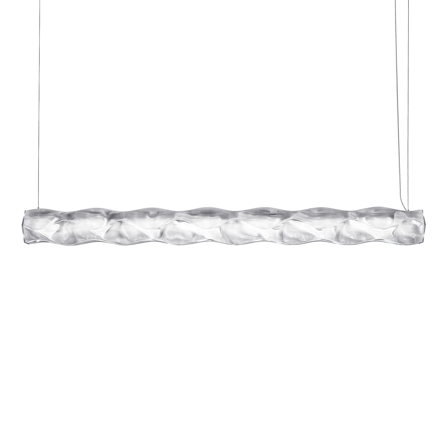 home24 LED-Pendelleuchte Hugo