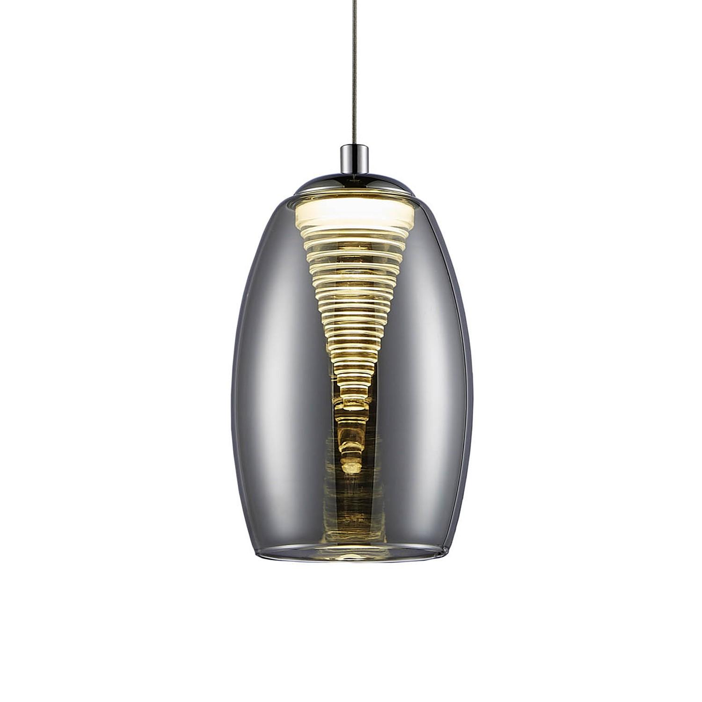 home24 LED-Pendelleuchte Metropolis Spiral I