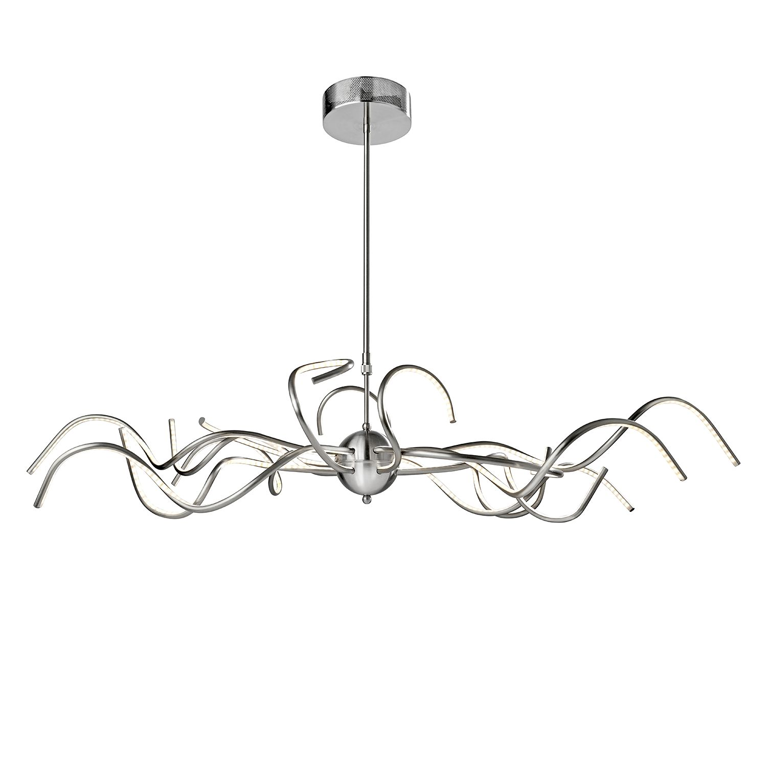 home24 LED-Pendelleuchte Octopus