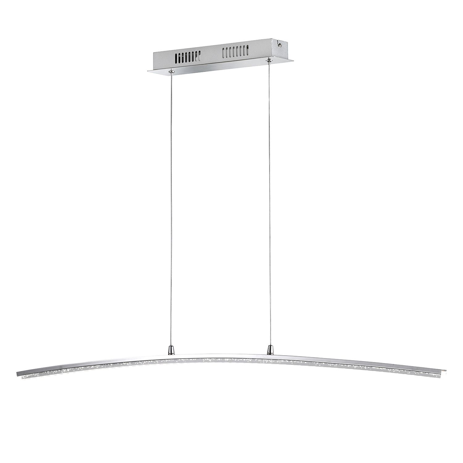 home24 LED-Pendelleuchte Sorel