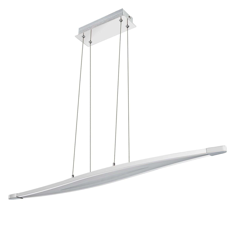 EEK A+, LED-Pendelleuchte Trois - Metall / Acrylglas, Wofi