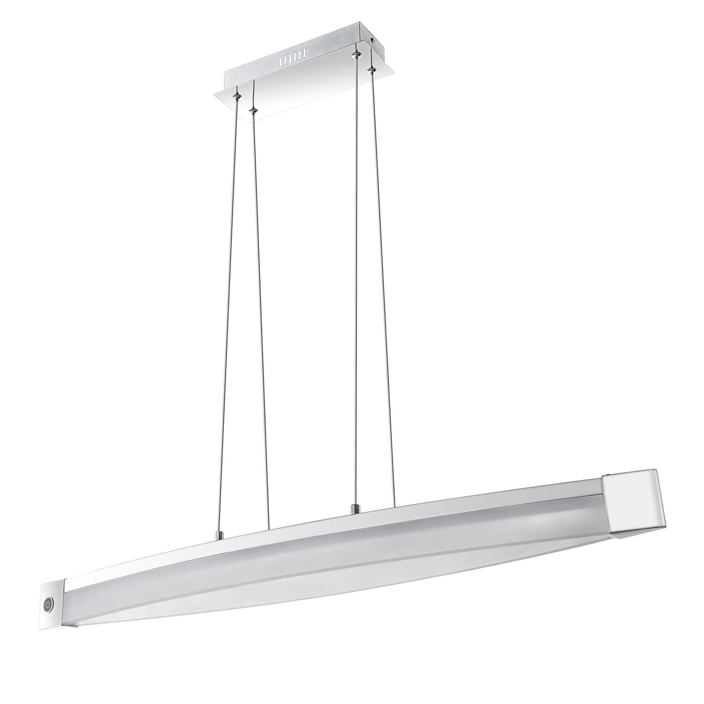 EEK A+, LED-Pendelleuchte Vannes - Metall / Acrylglas, Wofi
