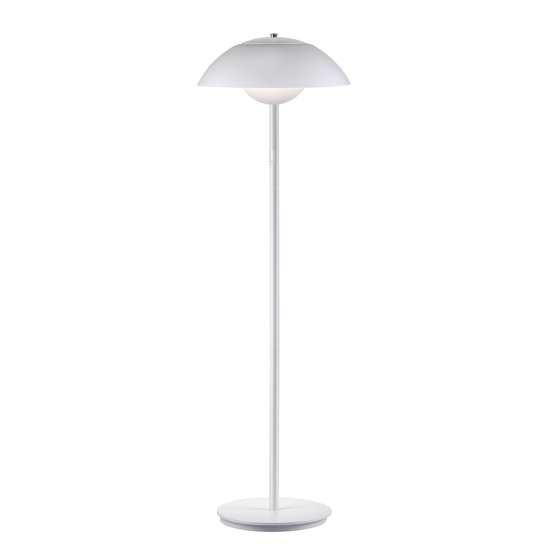 EEK A+, LED-Stehleuchte Elevate II - Kunststoff / Stahl - 1-flammig - Weiß, Nordlux