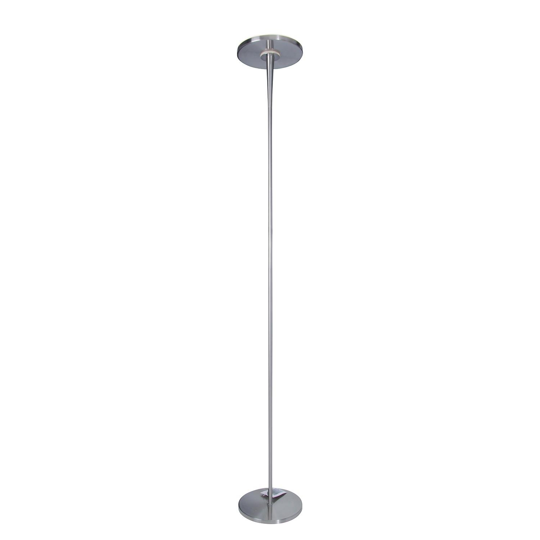 LED-Stehleuchte - Metall - Silber, Näve