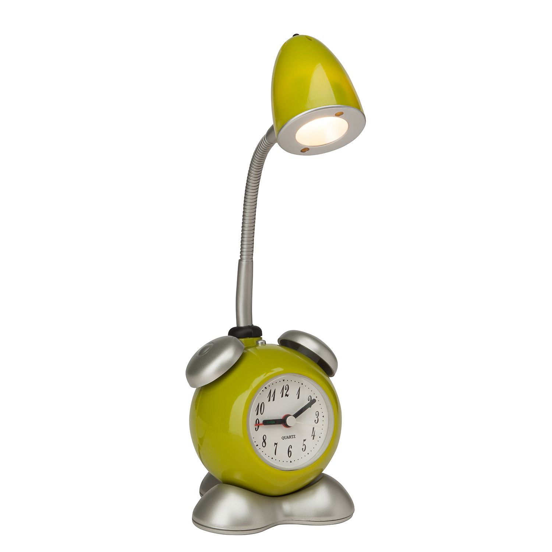 EEK A+, LED-Tischleuchte Pharrell 1-flammig - Grün Metall, Brilliant