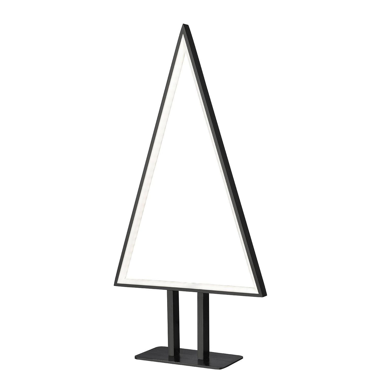 EEK A+, Lampe de table LED Pine - Aluminium - 1 ampoule - Noir mat, Sompex
