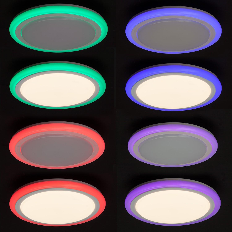 home24 LED-Wand- und Deckenleuchte Tizian