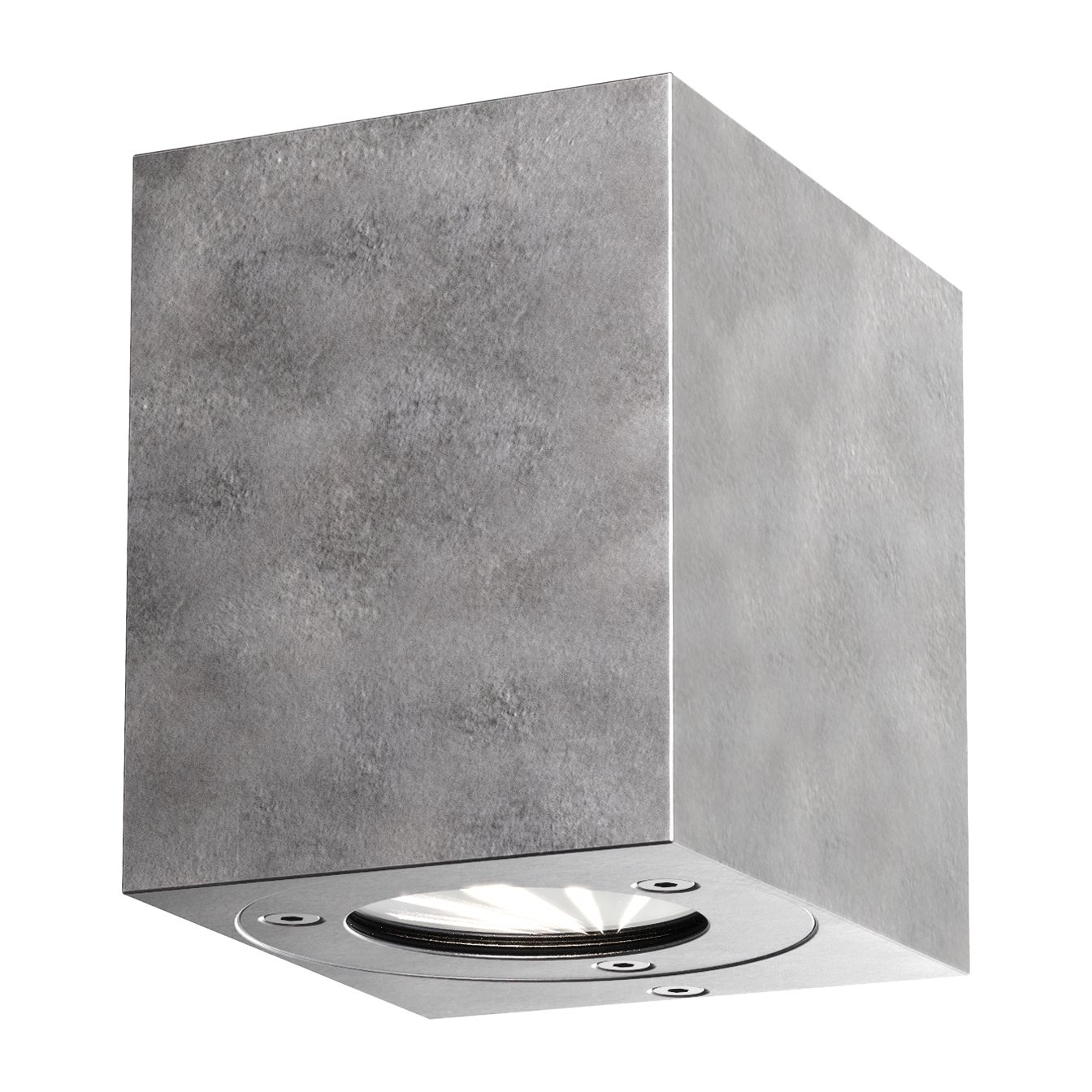 EEK A+, LED-Außenleuchte Kanto - Glas / Stahl - 2-flammig - Platin, Nordlux