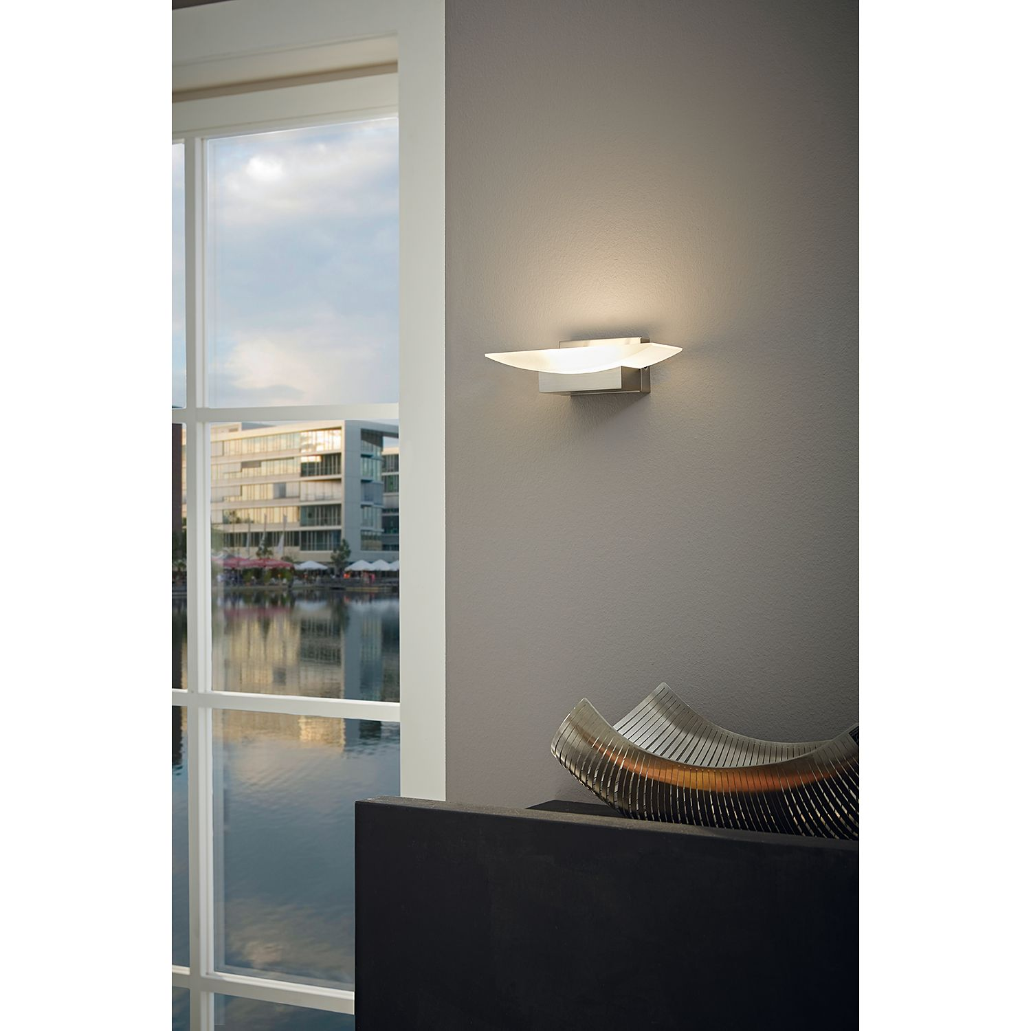 home24 LED-Wandleuchte Metrass I