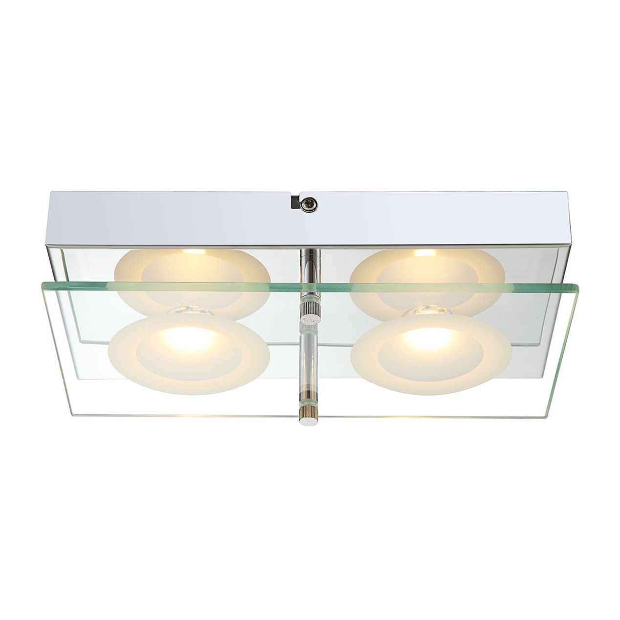 LED-Wandleuchte Oda 2-flammig