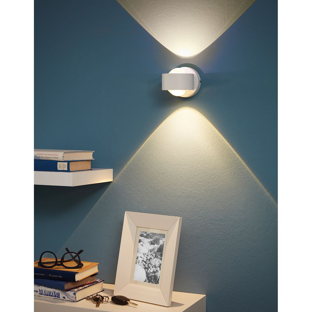 home24 LED-Wandleuchte Ono