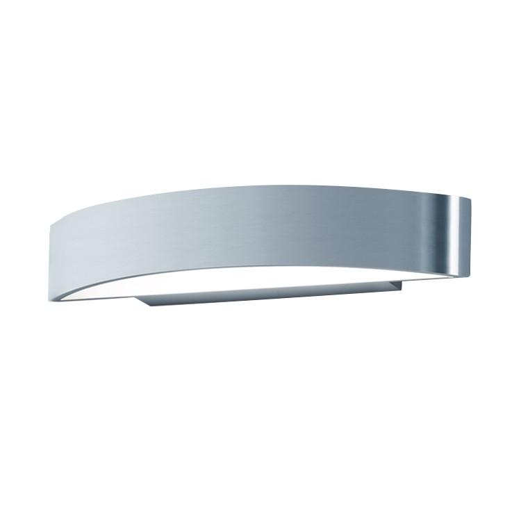 home24 LED-Wandleuchte Yona Aluminium