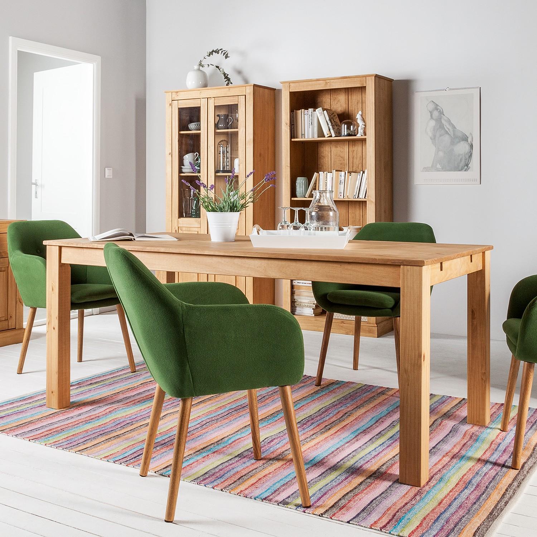 home24 Maison Belfort Esstisch Neely Massivholz Kiefer Rechteckig 160x76x90 cm (BxHxT) Landhaus für 4-6 Personen