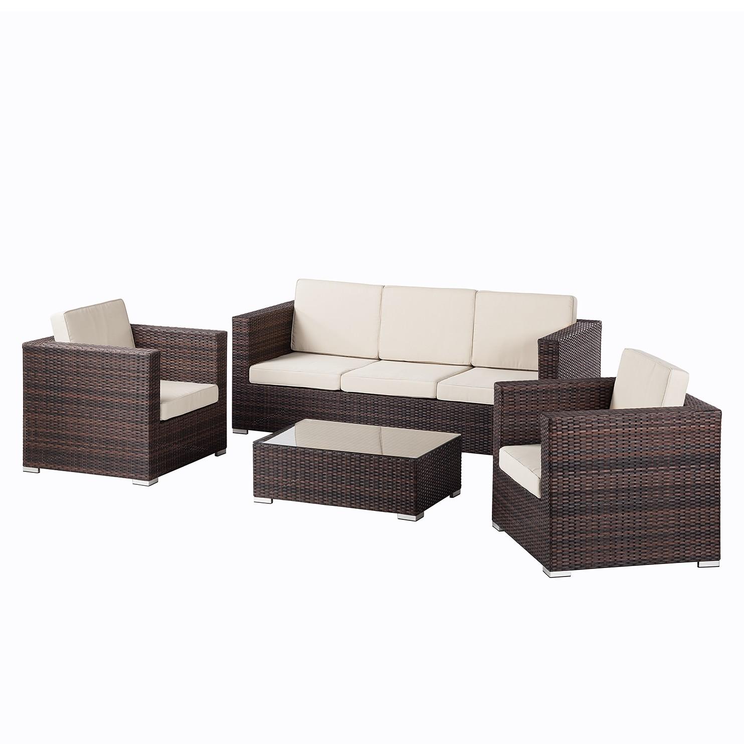 Loungeset Paradise Lounge II (4-teilig)