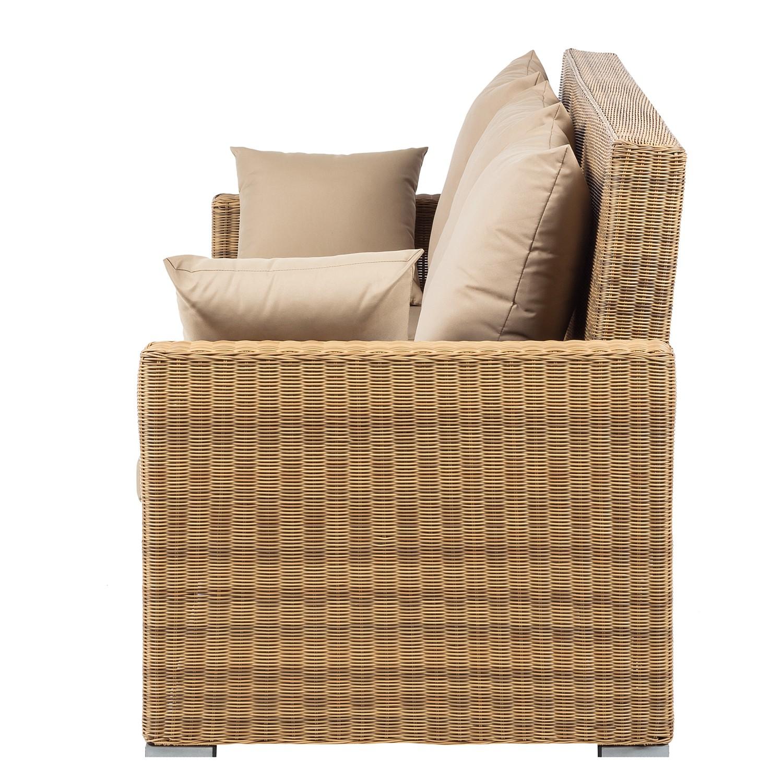 Deinen Garten Günstig Und Schick Mit Loungemöbeln Von Maison Belfort Einrichten Polyrattan - Braun-beige