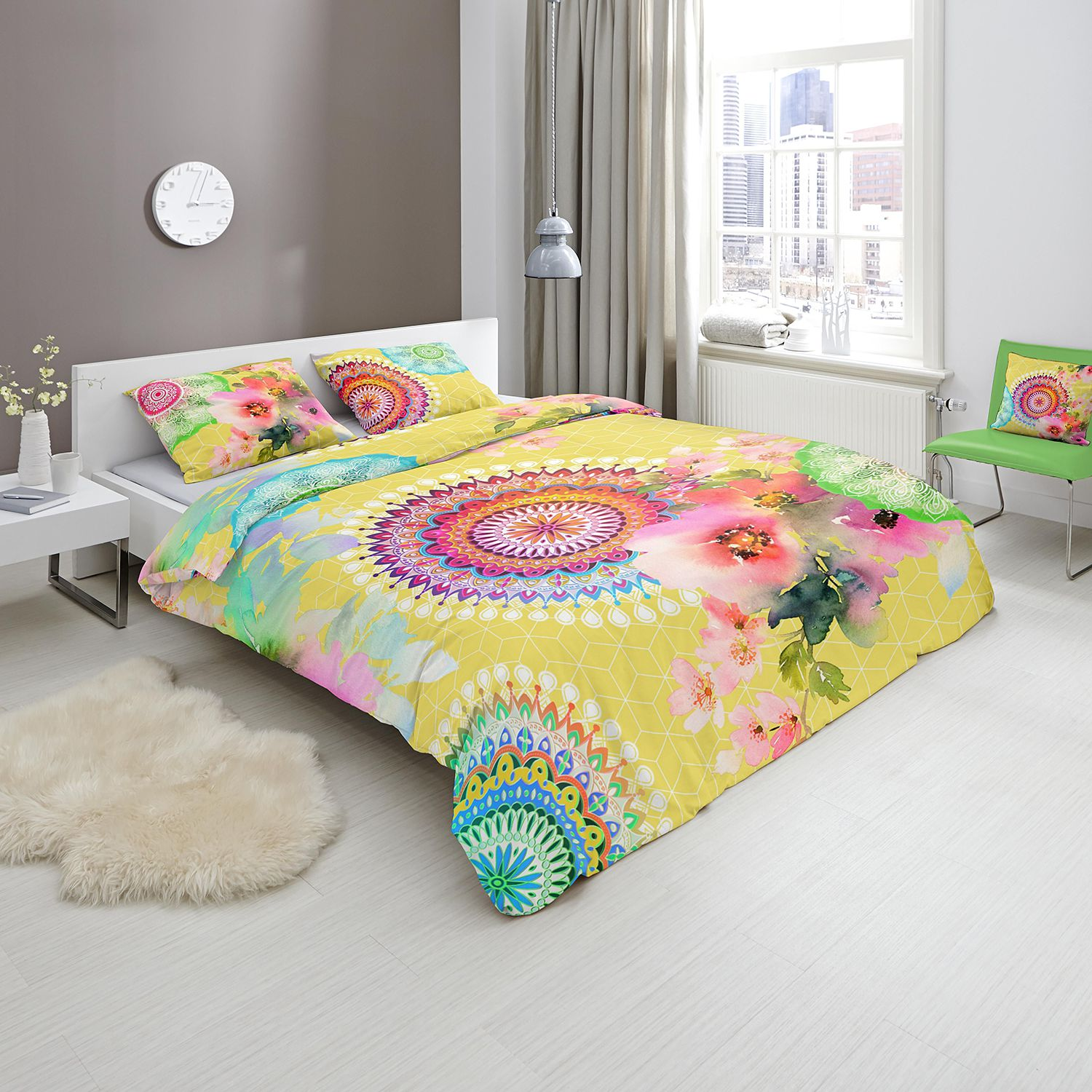 home24 Mako-Satin-Bettwaesche Chanelle
