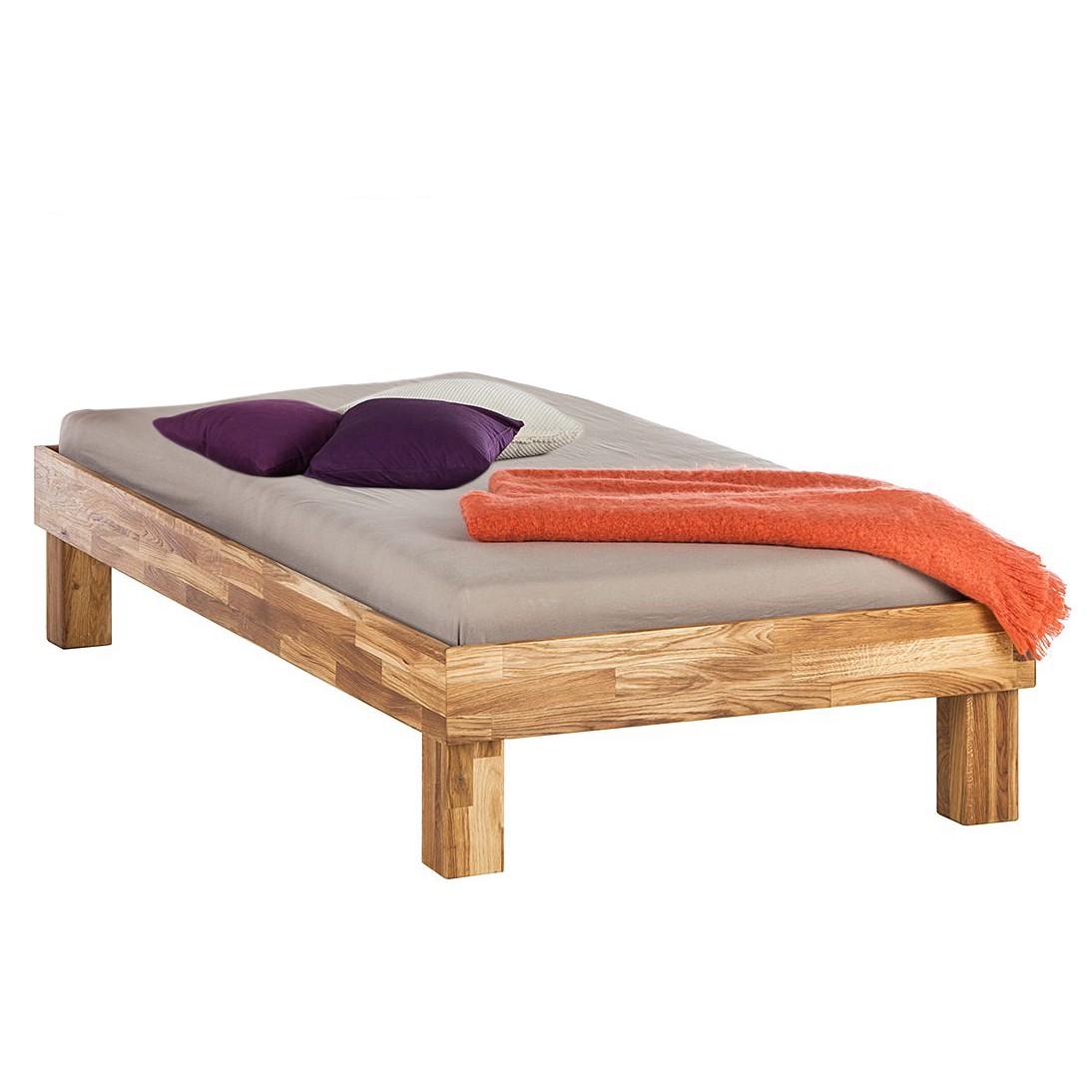 home24 Massivholzbett AresWOOD | Schlafzimmer > Betten > Massivholzbetten | Braun | Massivholz | Ars Natura