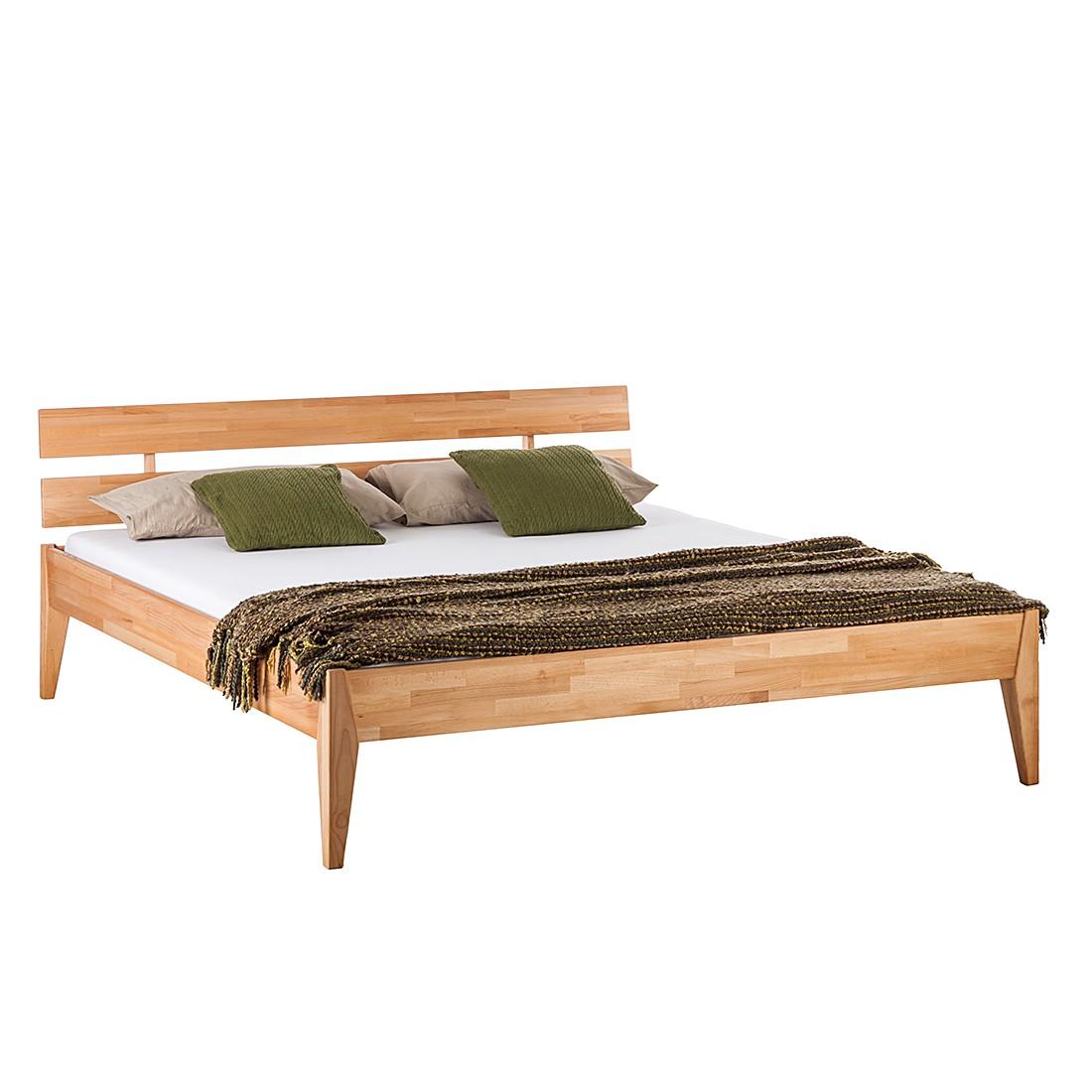 goedkoop Massief houten bed JillWOOD 140 x 200cm Kernbeuken Ars Natura