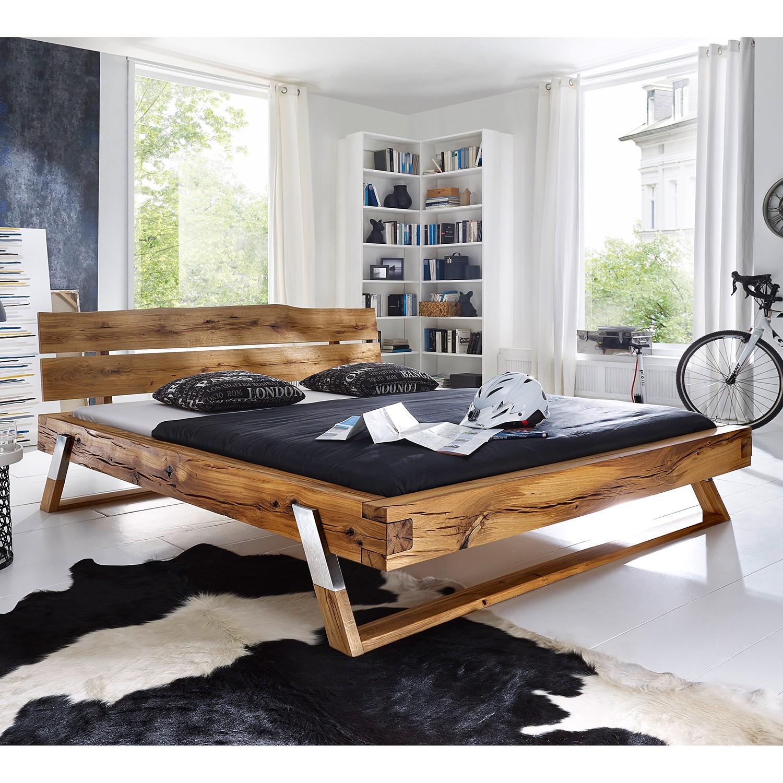 home24 Massivholzbett Breuberg | Schlafzimmer > Betten > Massivholzbetten | Braun | Massivholz | Ars Natura