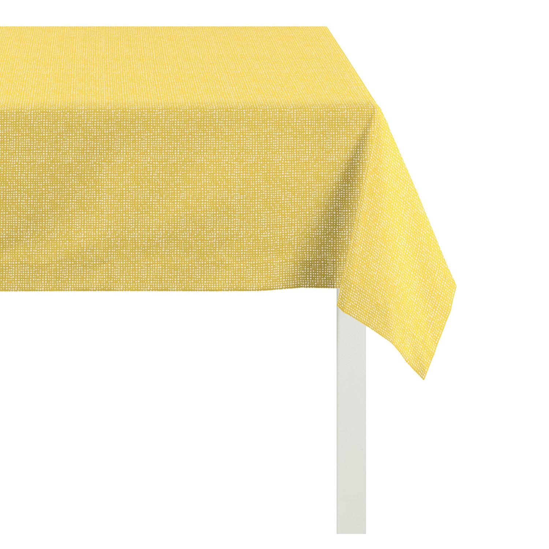 home24 Mitteldecke Outdoor I | Heimtextilien > Tischdecken und Co > Tischdecken | Gelb | Textil | Apelt