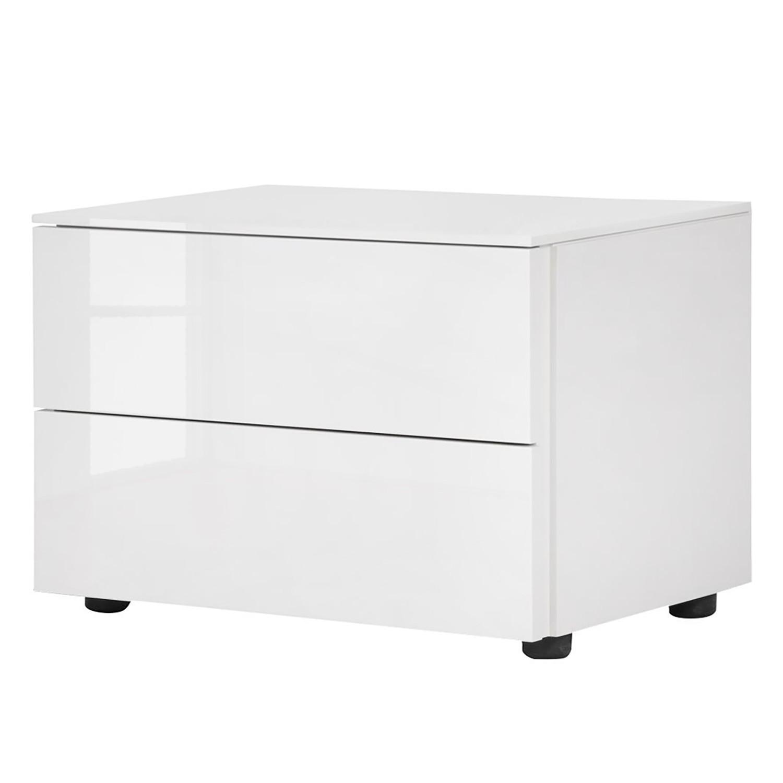 Comodino Bianco II - bianco lucido, Fredriks