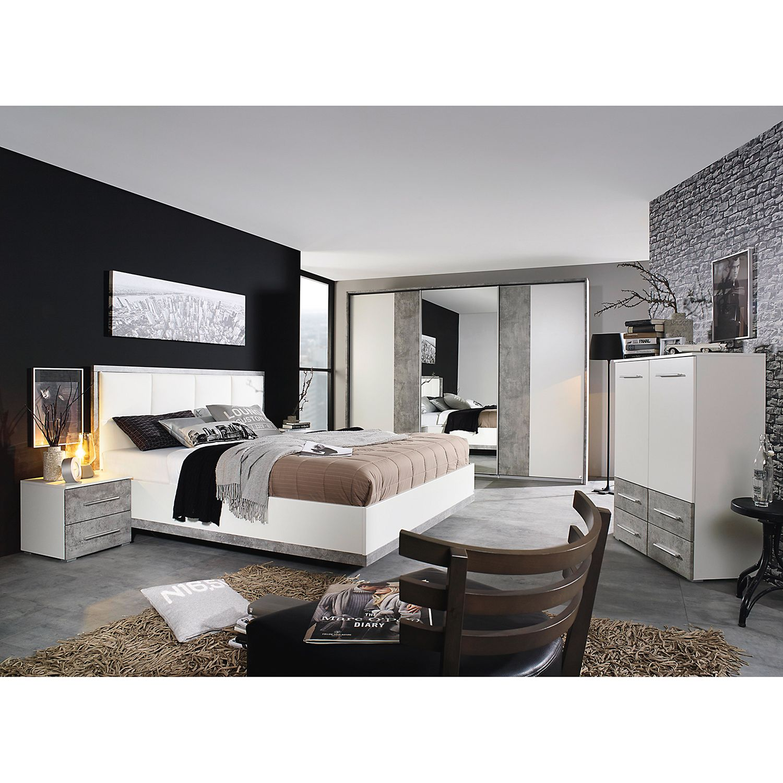 home24 Nachtkommode Siegen | Schlafzimmer > Kommoden > Nachttischkommoden | Grau | Rauch Pack´s