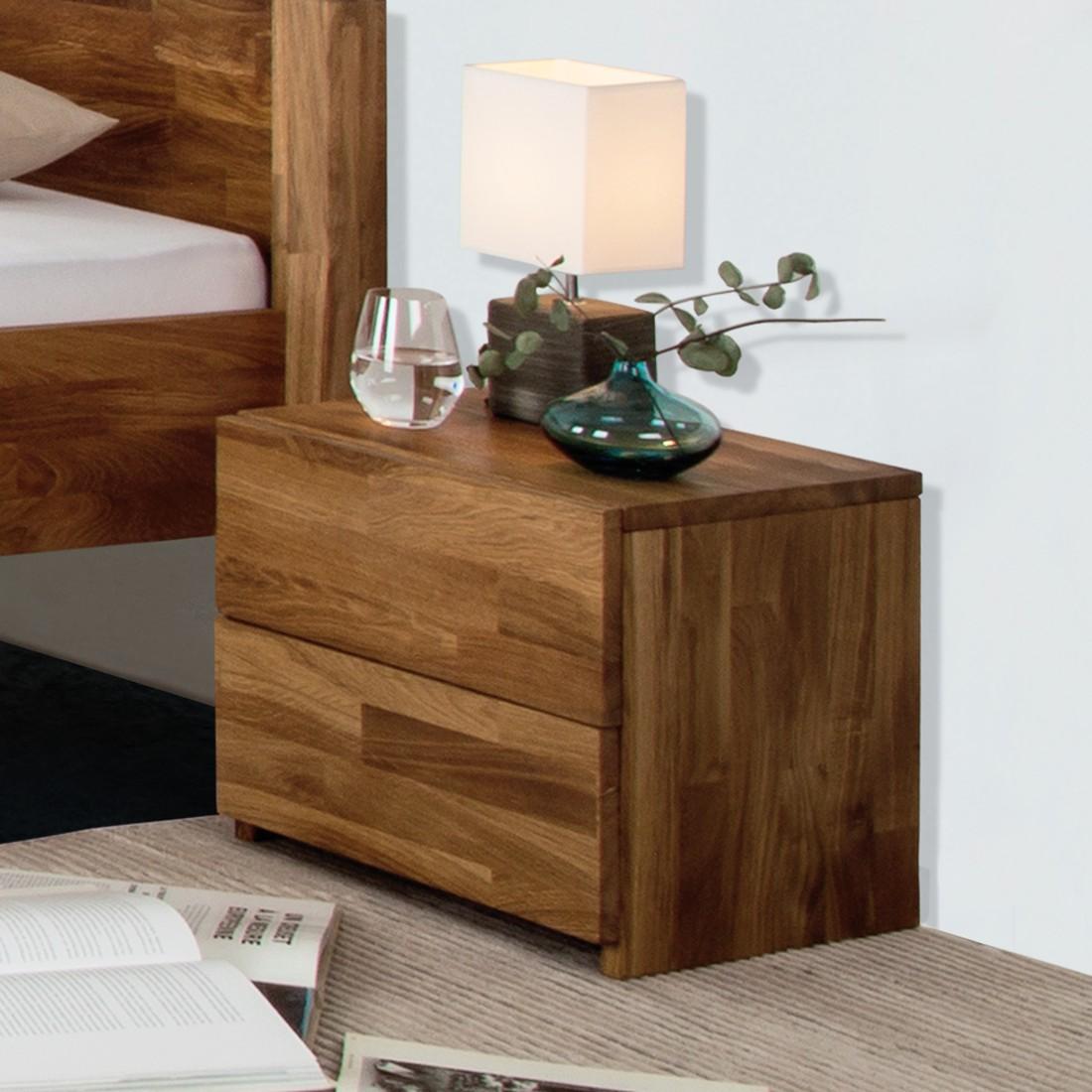 Schlafzimmermöbel - Nachtkommode ZoeWOOD II - Ars Natura - Braun