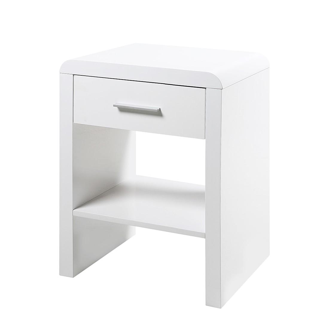 Comodino Easy - Bianco, Fredriks