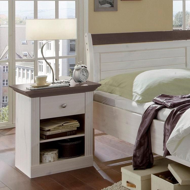 home24 Nachtkonsole Lyngby | Schlafzimmer > Nachttische | Grau | Maison Belfort