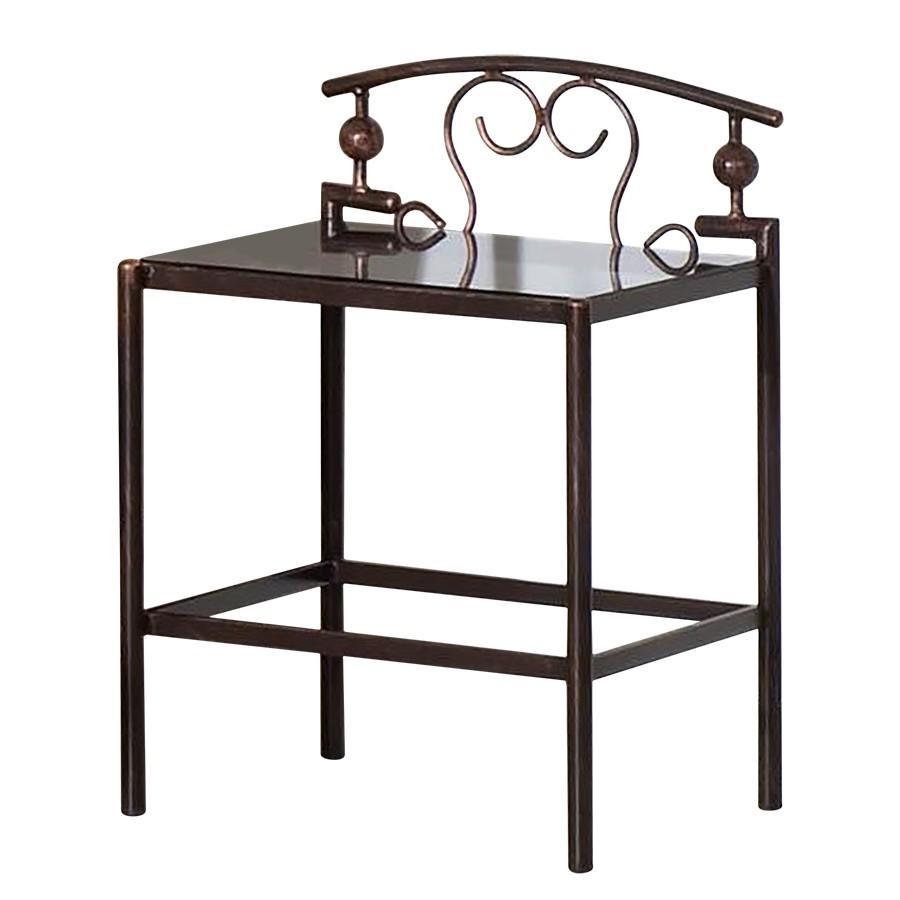 Schlafzimmermöbel - Nachttisch Florenz - Neue Modular - Schwarz