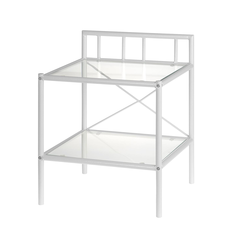 Schlafzimmermöbel - Nachttisch Venedig - Neue Modular - Weiss